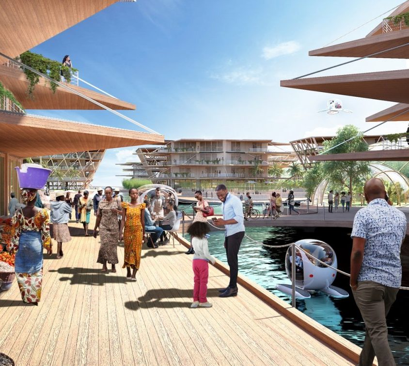 Una comunidad flotante para el futuro 6
