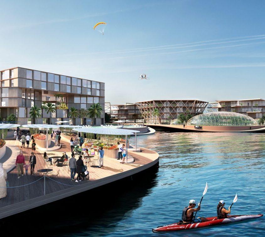 Una comunidad flotante para el futuro 9