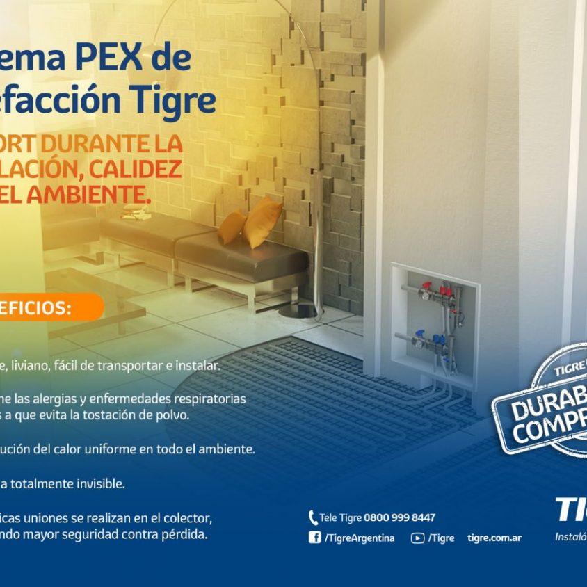 Sistema PEX de Calefacción Tigre 1