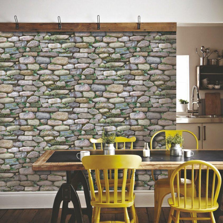Las mejores tendencias en Empapelados refrescan las paredes 13