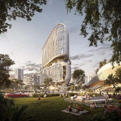 El futuro de la India es Karle Town Center 6