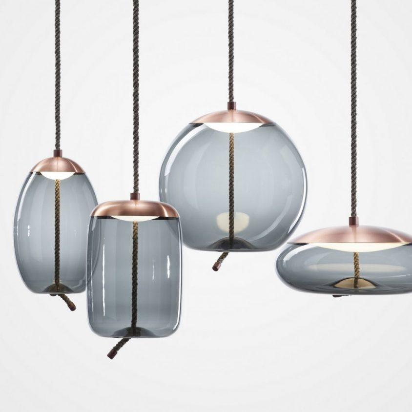 Artesanía checa en las lámparas Knot 1