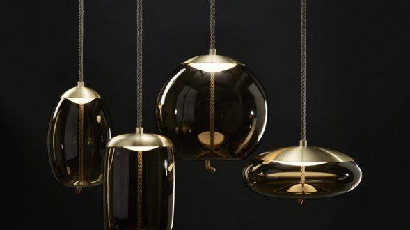 Artesanía checa en las lámparas Knot 23