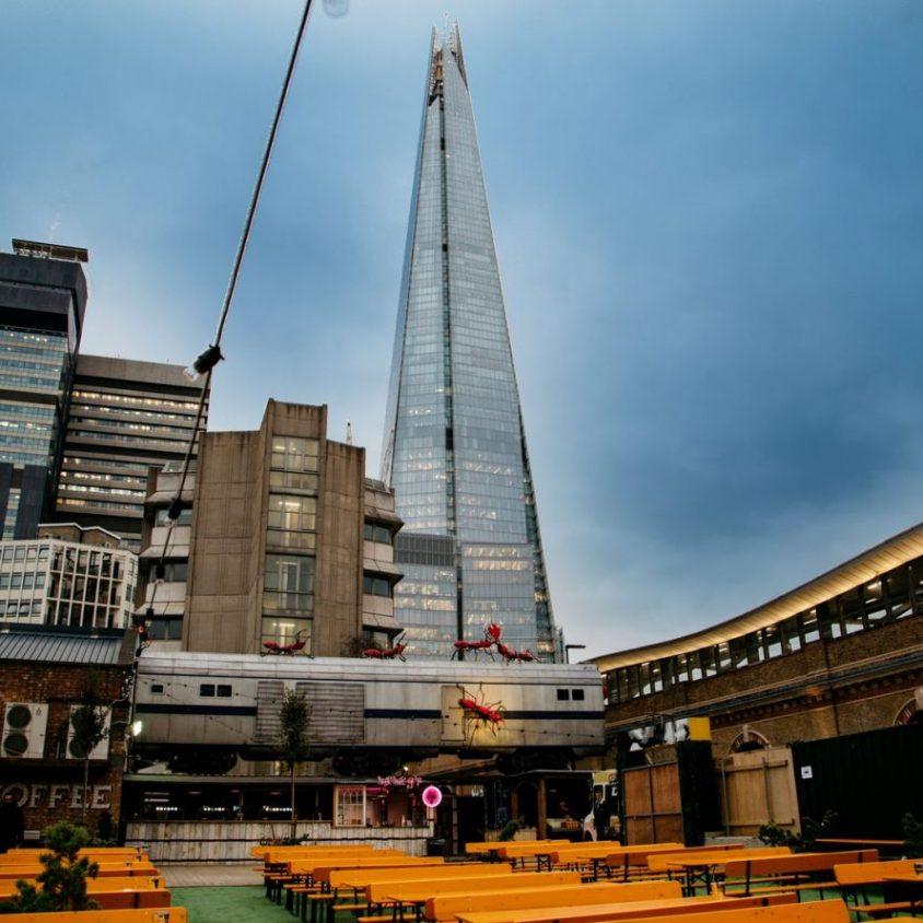 Vinegar Yard, gastronomía y arte en Londres 1