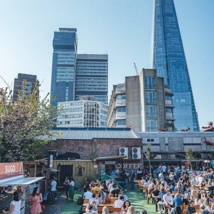 Vinegar Yard, gastronomía y arte en Londres 16