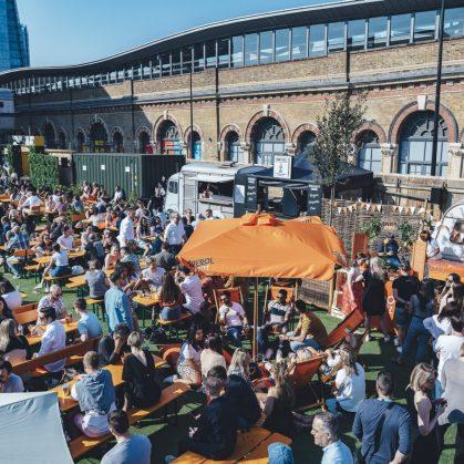 Vinegar Yard, gastronomía y arte en Londres 15