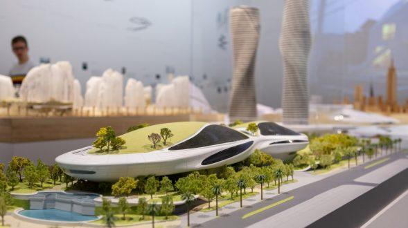 """La """"ciudad del futuro"""" de MAD 6"""