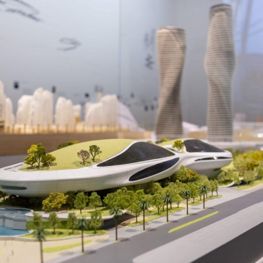 """La """"ciudad del futuro"""" de MAD 3"""