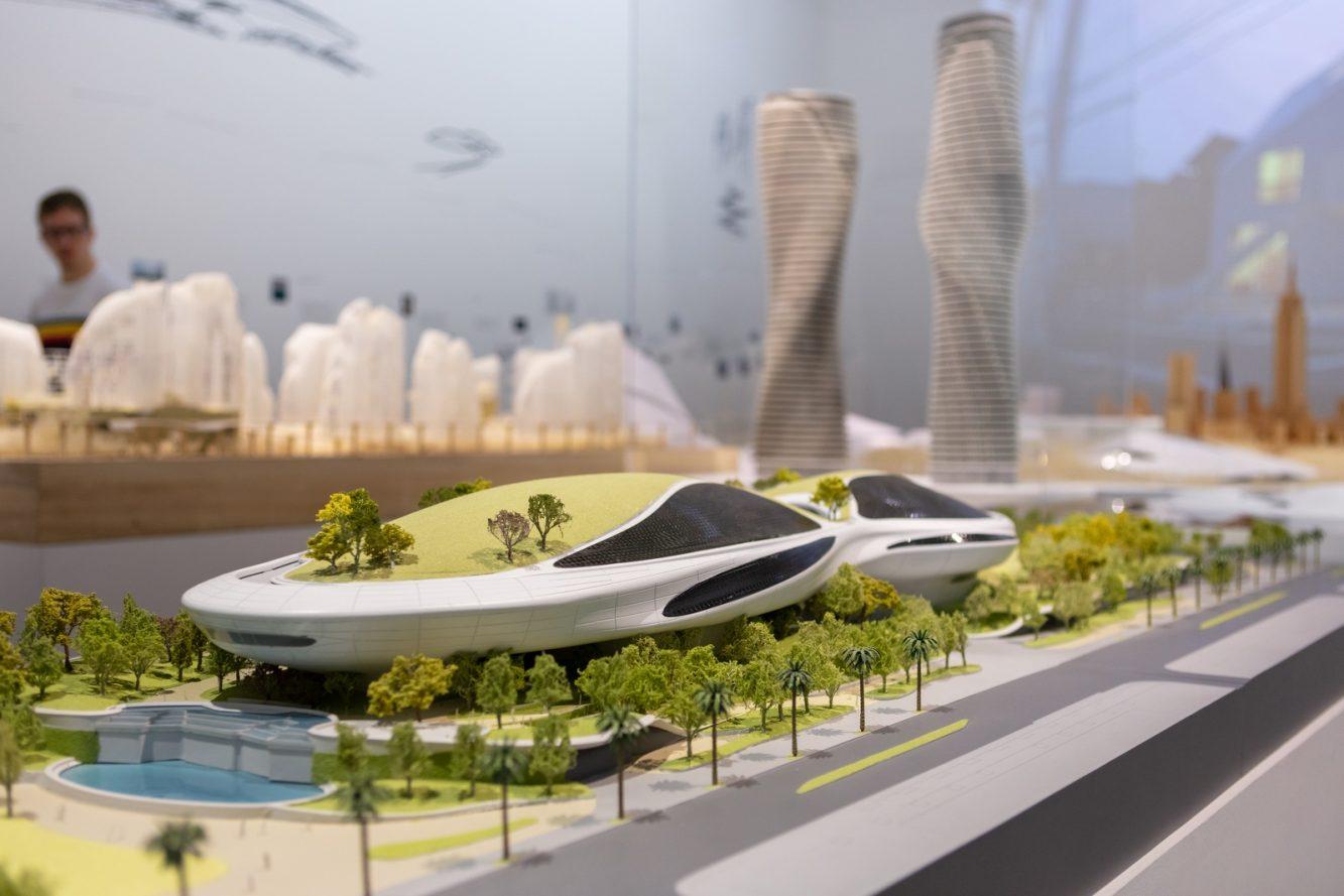 """La """"ciudad del futuro"""" de MAD 17"""