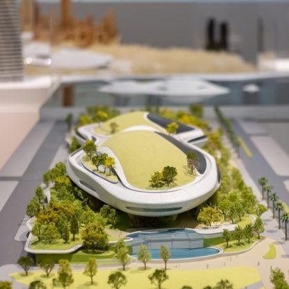 """La """"ciudad del futuro"""" de MAD 12"""