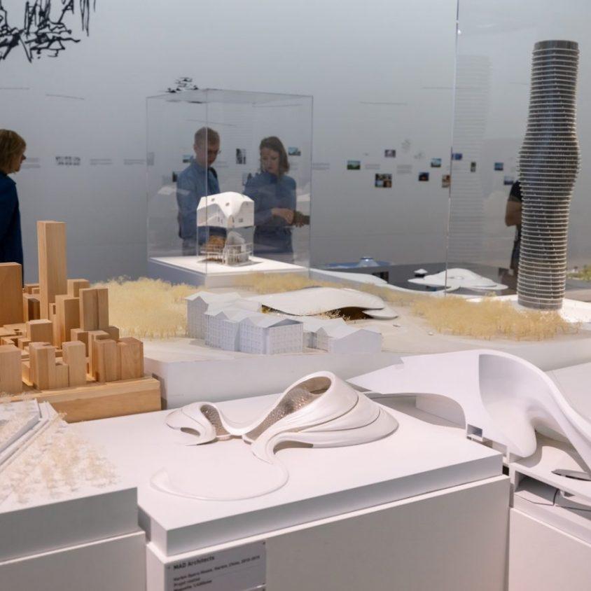 """La """"ciudad del futuro"""" de MAD 8"""