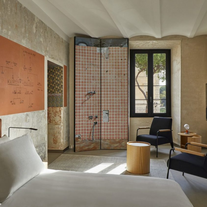 Arquitectura, arte y descanso en Roma 19
