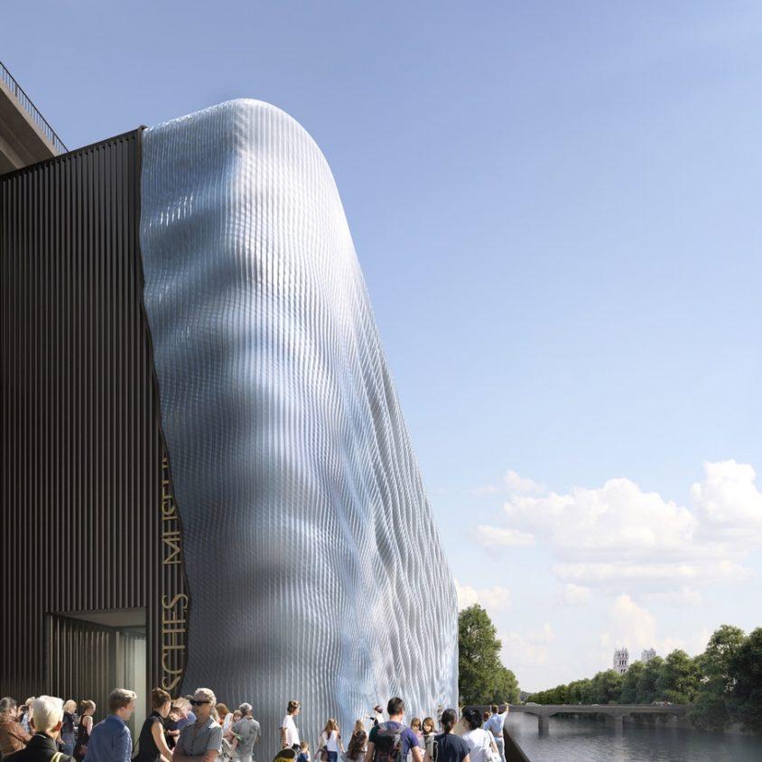 La fachada impresa en 3D para Deutsches Museum 6