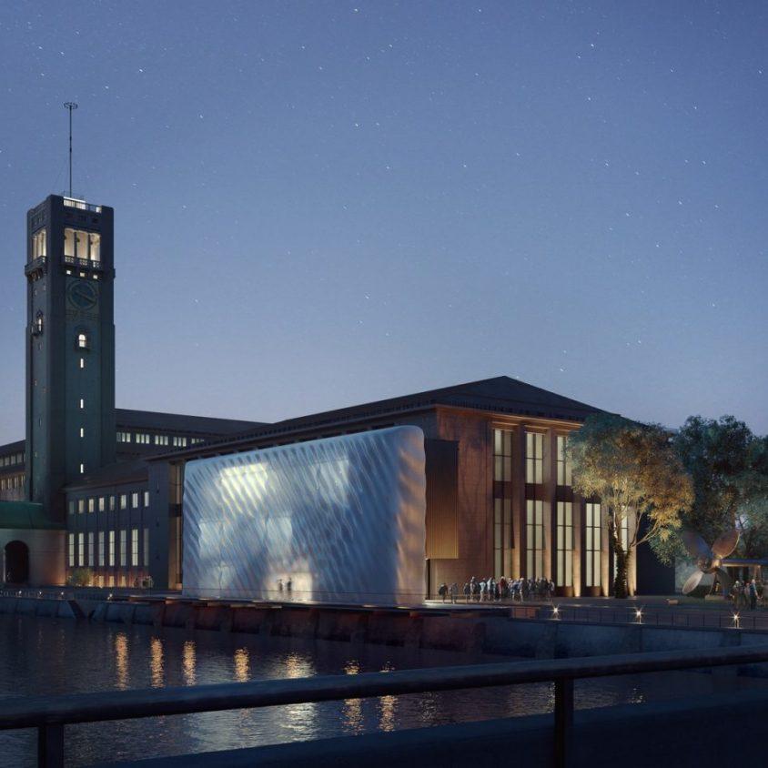 La fachada impresa en 3D para Deutsches Museum 7