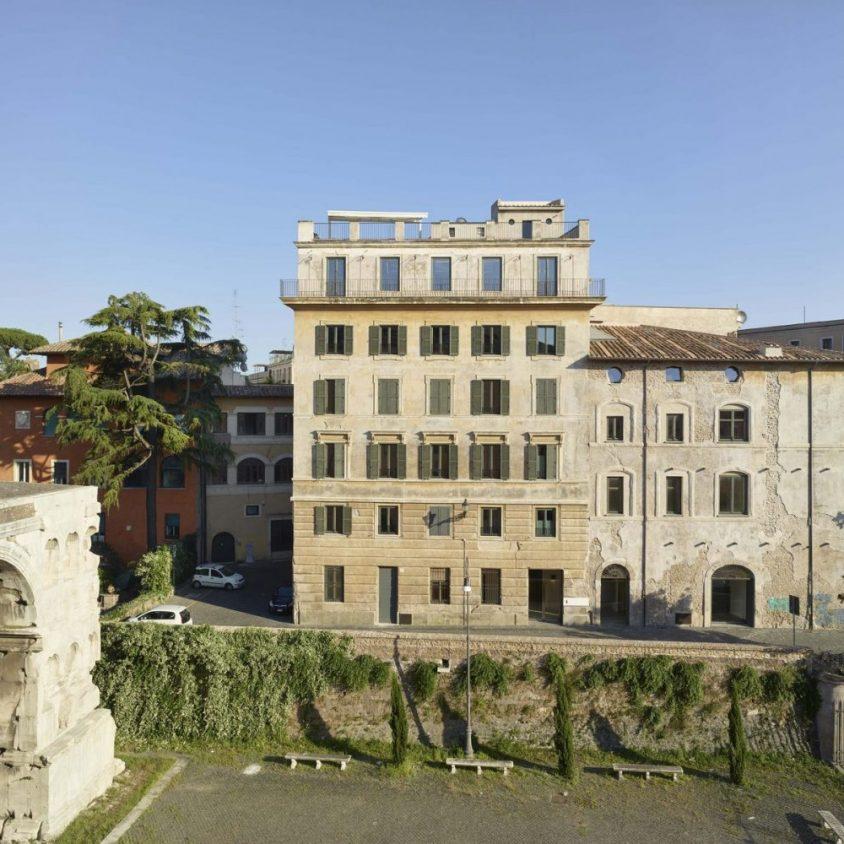 Arquitectura, arte y descanso en Roma 1