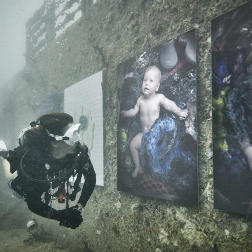 Arte submarino para reflexionar 12