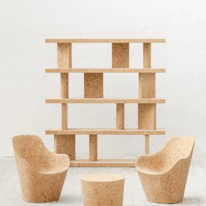 Muebles realizados en corcho 8