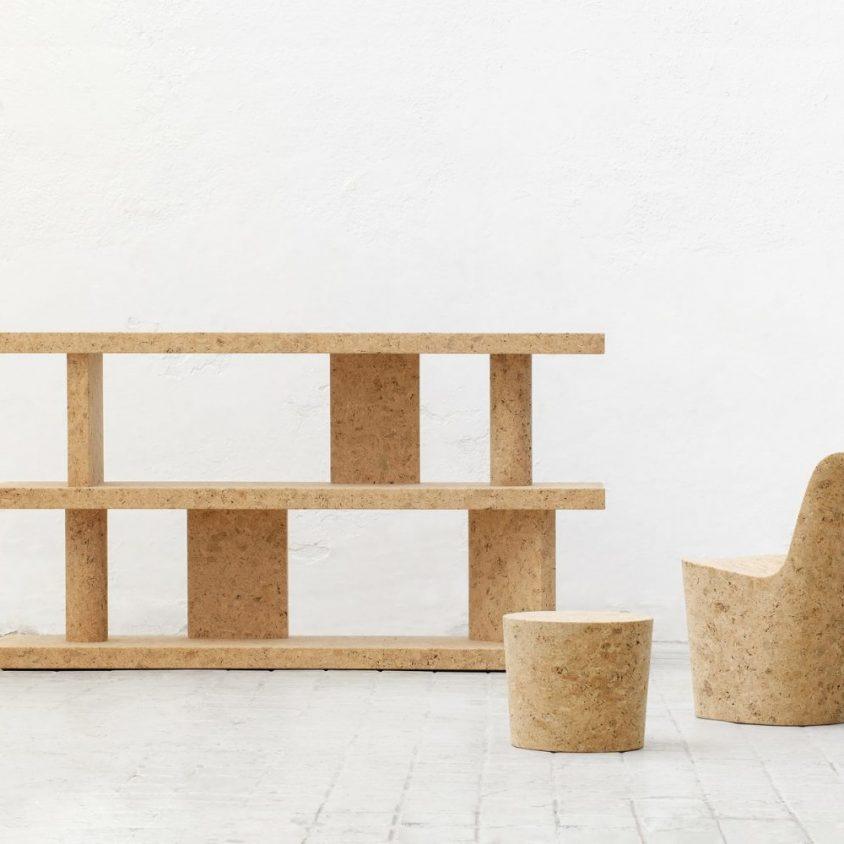Muebles realizados en corcho 7
