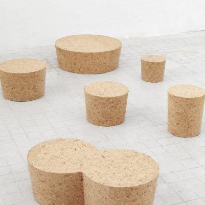 Muebles realizados en corcho 6