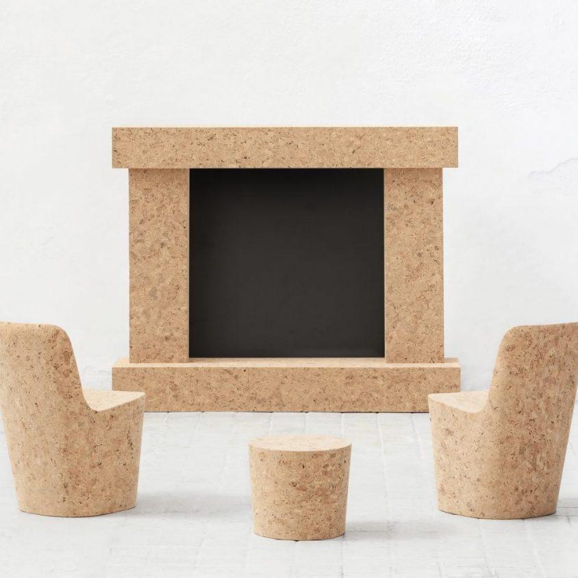 Muebles realizados en corcho 4