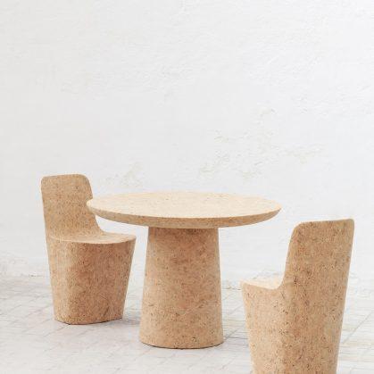 Muebles realizados en corcho 11