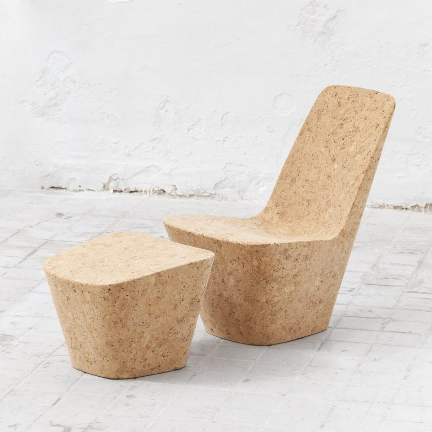 Muebles realizados en corcho 10