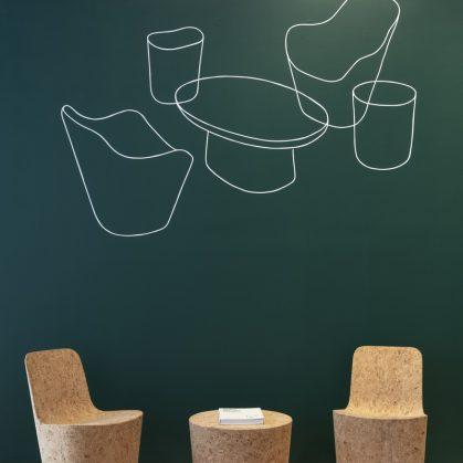 Muebles realizados en corcho 5