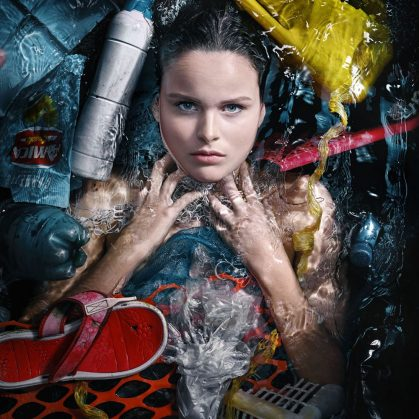 Arte submarino para reflexionar 3