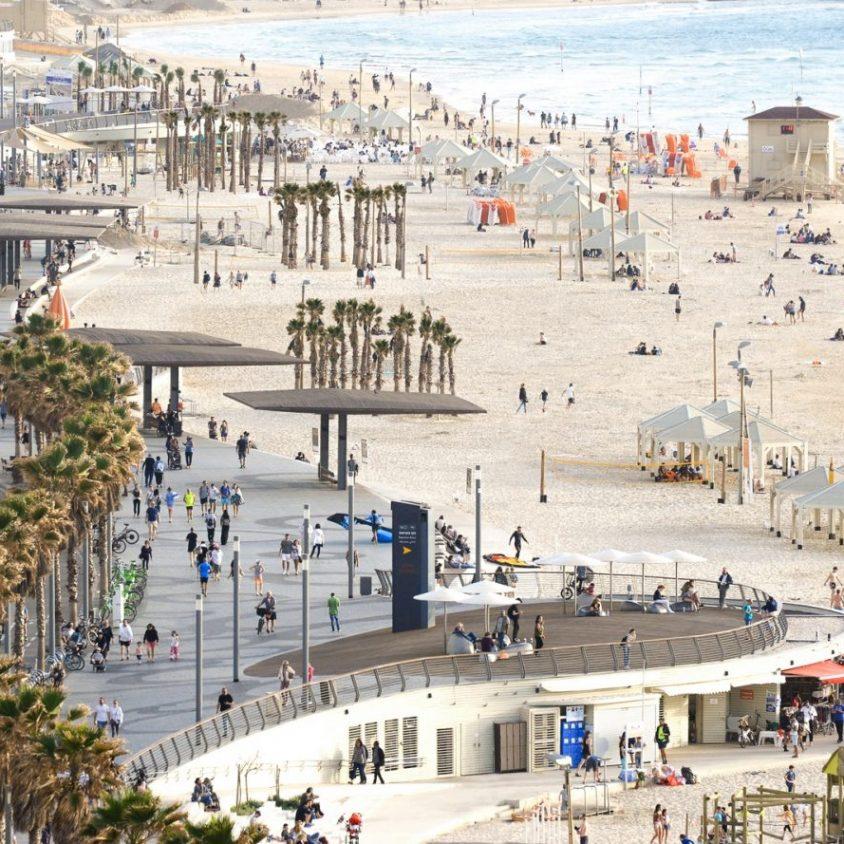 El nuevo paseo marítimo de Tel Aviv 1
