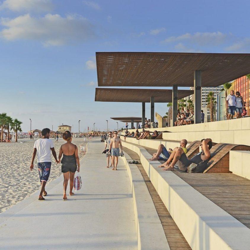 El nuevo paseo marítimo de Tel Aviv 11