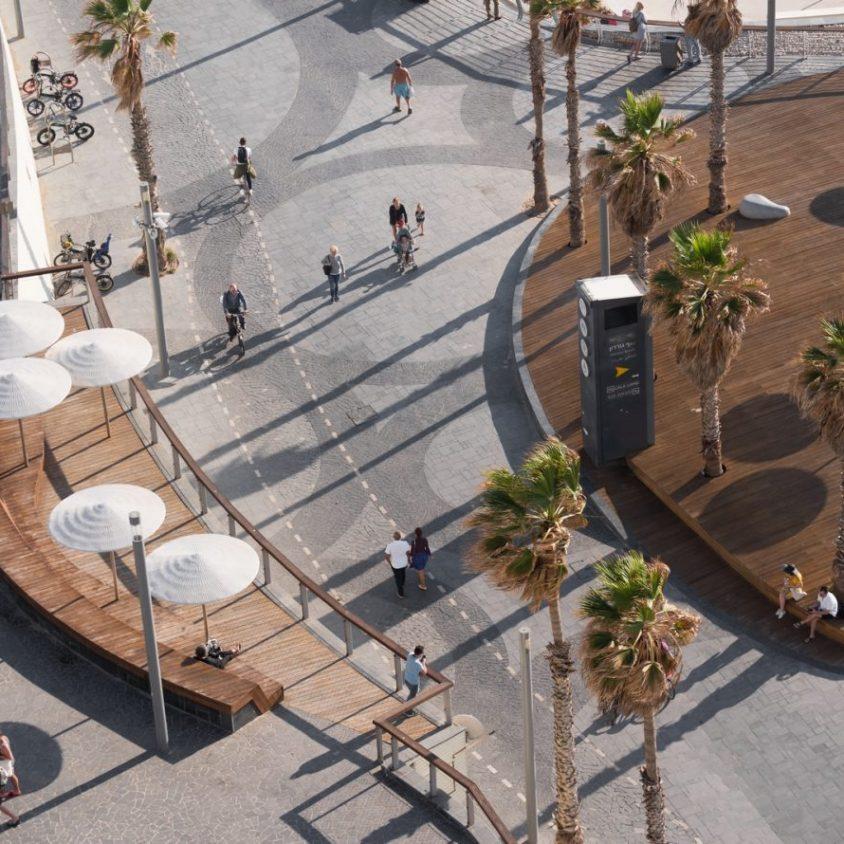 El nuevo paseo marítimo de Tel Aviv 2