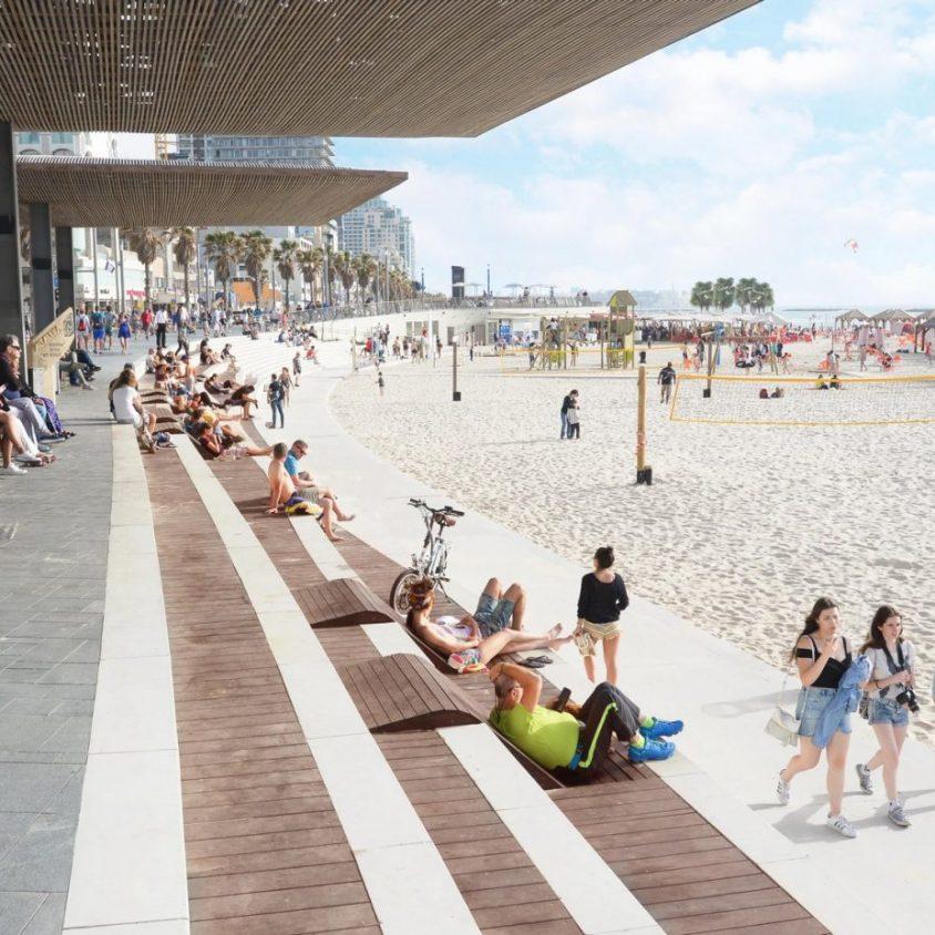El nuevo paseo marítimo de Tel Aviv 7