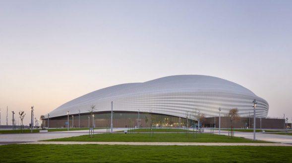 El estadio Al Janoub está listo para el Mundial de Qatar 2022 16