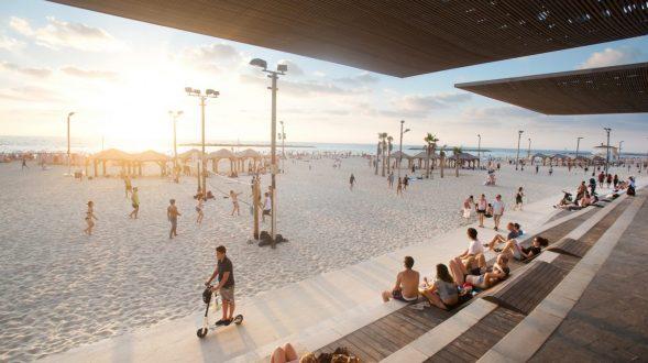 El nuevo paseo marítimo de Tel Aviv 32