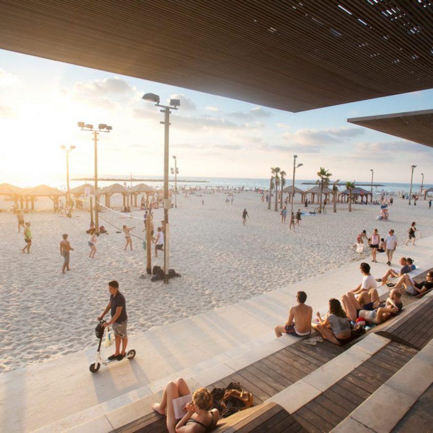 El nuevo paseo marítimo de Tel Aviv 12