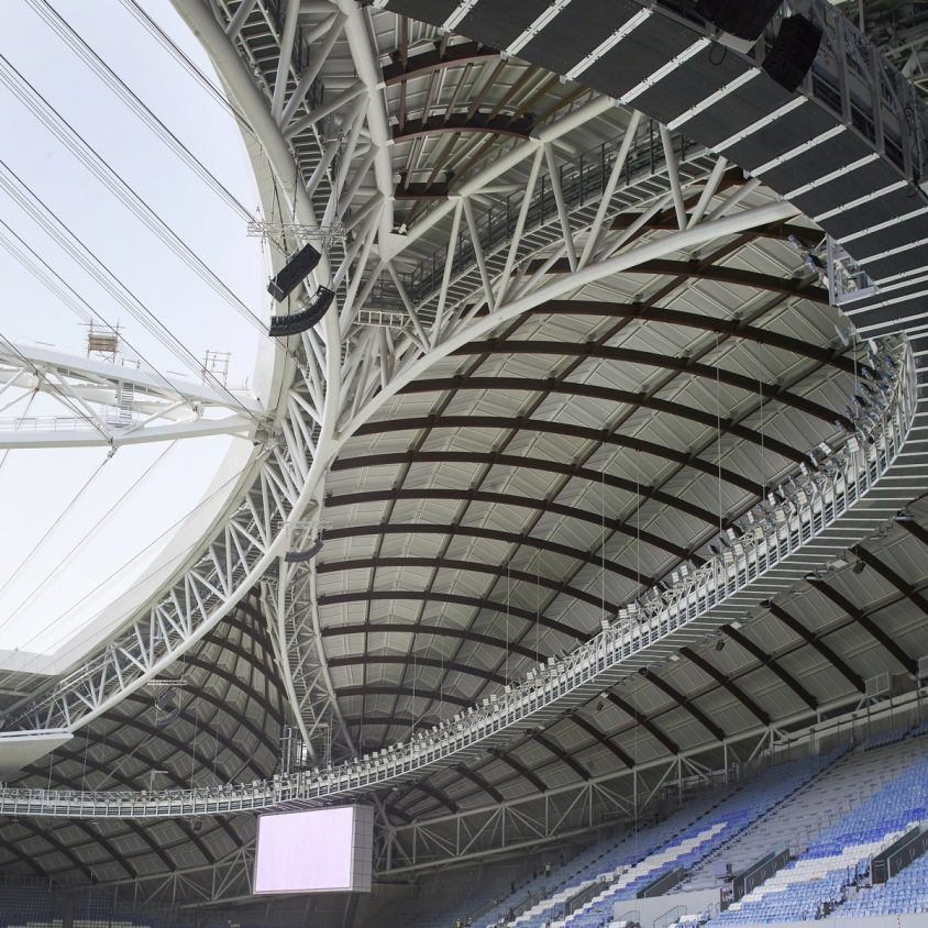 El estadio Al Janoub está listo para el Mundial de Qatar 2022 21