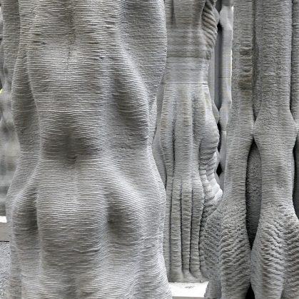"""""""Concrete Choreography"""", la instalación de hormigón en 3D 14"""
