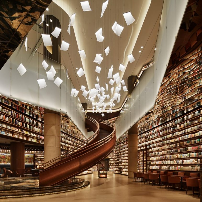 Un palacio convertido en librería 1