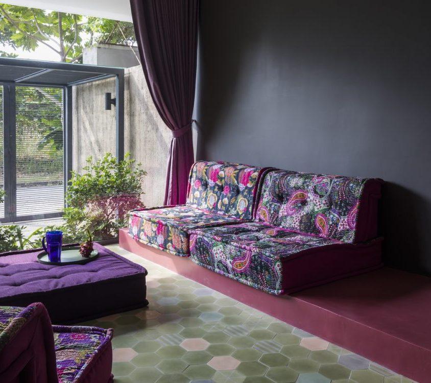 Luz y colores en Pattern House 24