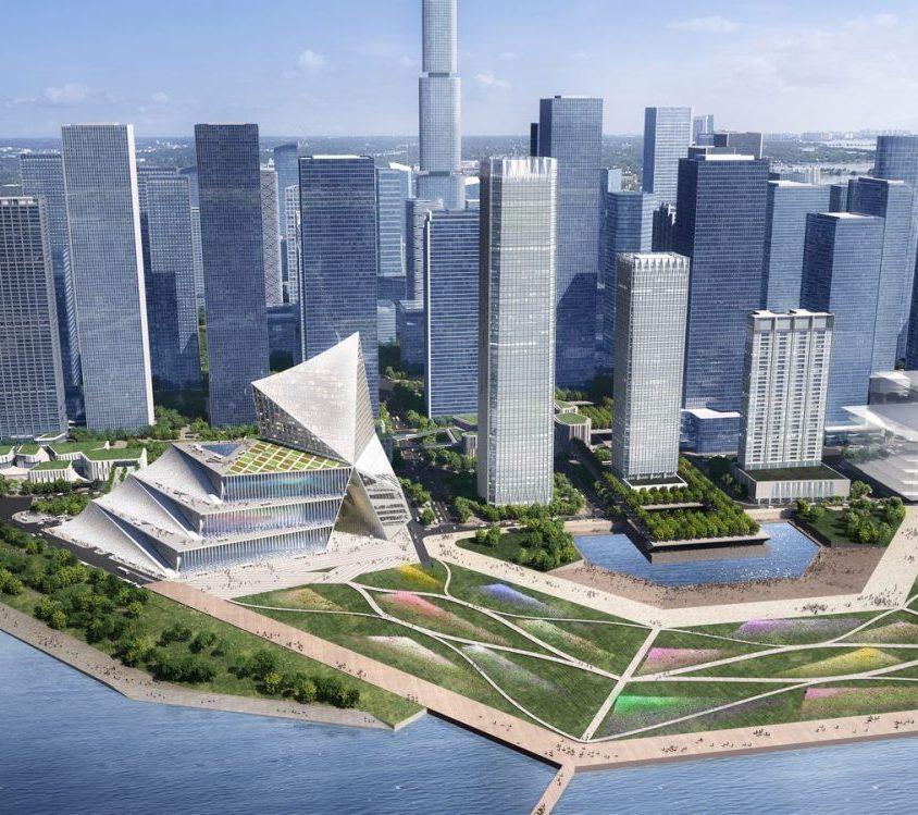 El nuevo centro financiero de OMA 2