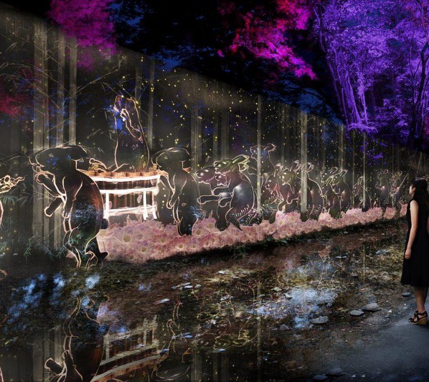 El bosque digitalizado del Santuario Shimogamo 8