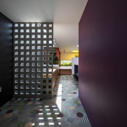 Luz y colores en Pattern House 26