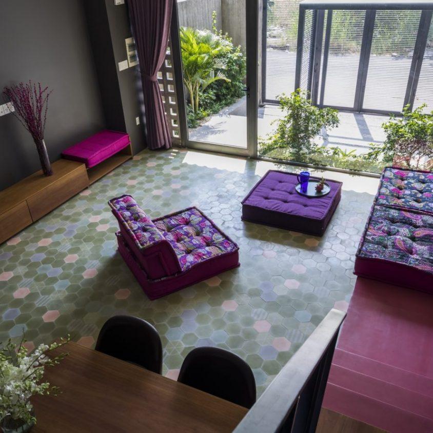 Luz y colores en Pattern House 23