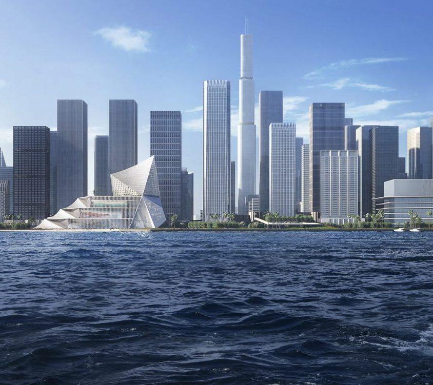 El nuevo centro financiero de OMA 1