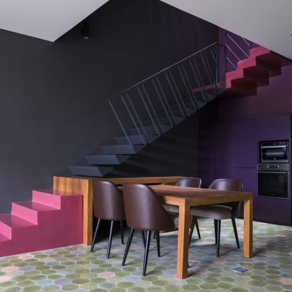 Luz y colores en Pattern House 17
