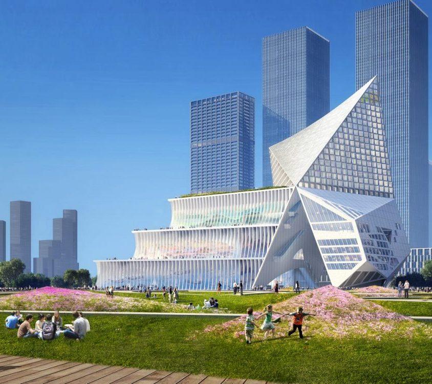 El nuevo centro financiero de OMA 3