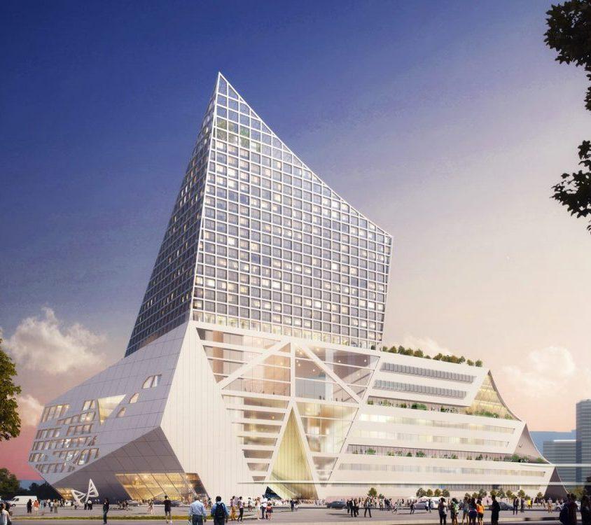El nuevo centro financiero de OMA 4