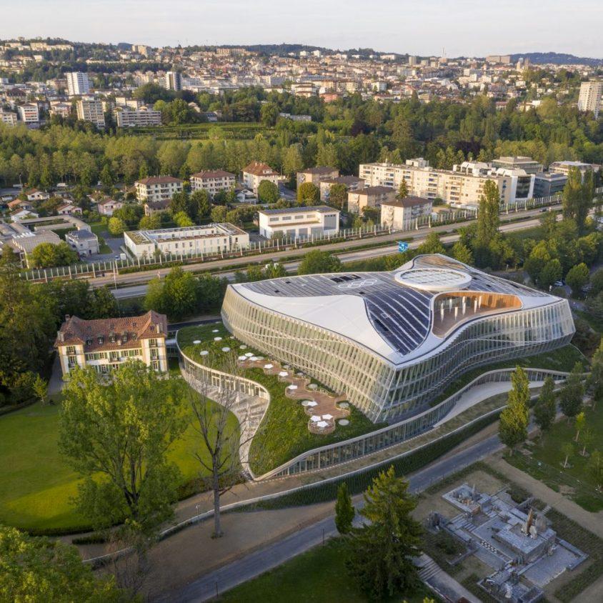 La nueva casa del Comité Olímpico Internacional 2