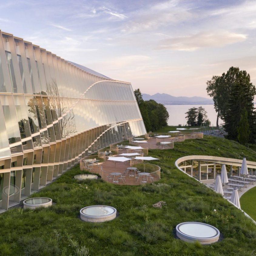 La nueva casa del Comité Olímpico Internacional 12
