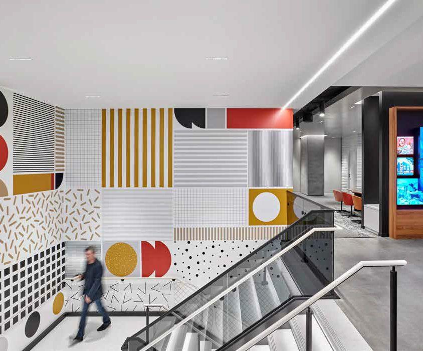 "Las oficinas de la ""Universidad de la Hamburguesa"" 9"